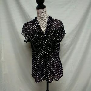 Maurices shear blouse